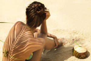 Beach skin-care routines